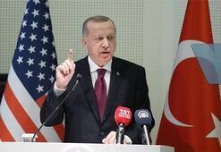Son dakika | Cumhurbaşkanı Erdoğan: ABDden beklentimiz terör örgütüne verdiği desteği sonlandırmasıdır