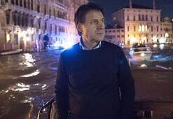 Conte, doğal afet yaşanan Venediki ziyaret etti