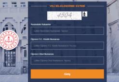 e okul vbs girişi yoğun ilgi görüyor Sınav puanları ekranı