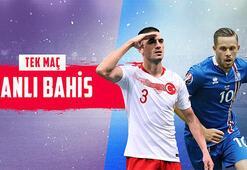 Türkiye-İzlanda maçının canlı bahis heyecanı Misli.comda