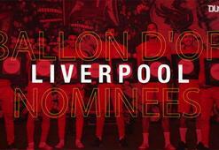 Liverpooldan Ballon dOr için tam 7 futbolcu...