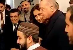 Erdoğanın ABDdeki cami ziyaretinde renkli anlar I love you man