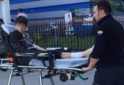 Rottweilerın saldırdığı ortaokul öğrencisi yaralandı