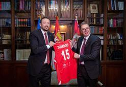 Hidayet Türkoğlu ve Vucic bir araya geldi