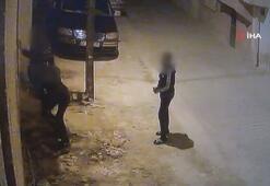 Çocuk hırsızların hayır parasını çaldığı anlar kamerada