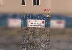 Malatyada 61 ton sahte içkiye 9 gözaltı