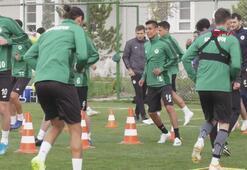 Konyasporda Beşiktaş maçı hazırlıkları sürüyor