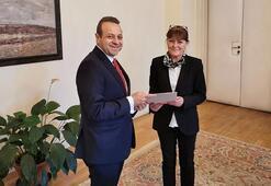 Egemen Bağış, Prag büyükelçiliği görevine başladı