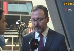 Bakan Kasapoğlu: Oyuncularımızı, hocamızı ve federasyonumuzu tebrik ediyorum