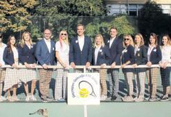 Behçet Uz'un torunu İzmır'i teniste marka yapacak