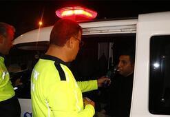 Dur ihtarına uymadı polis kıskıvrak yakaladı