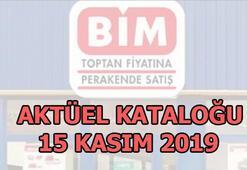 BİM aktüel ürünler kataloğu   BİM aktüel 15 Kasım 2019