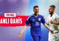 Bosna Hersek - İtalya maçının canlı bahis heyecanı Misli.comda