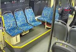 Alkollü adam, tramvayda hamile kadına saldırdı