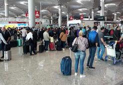 İstanbul Havalimanında ara tatil hareketliliği