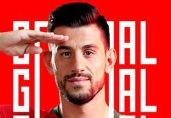 Portekizden asker selamlı gol sevinci paylaşımı