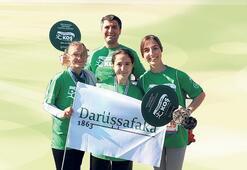Maratonun birincisi Darüşşafaka