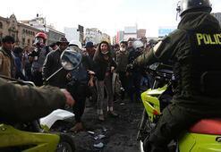 Bolivyada 5 gösterici hayatını kaybetti