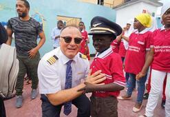 Türk Hava Yolları ailesi Afrika'ya, iyiliğe uçtu