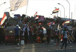 Bağdat'ta göstericiler Hıllani Meydanı ve Sinek Köprüsü'ne yeniden yerleşti
