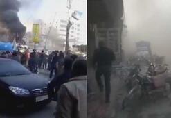 Suriyede bombalı saldırı En az 10 sivil hayatını kaybetti