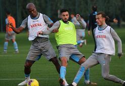 Trabzonsporda MKE Ankaragücü maçı hazırlıkları sürüyor