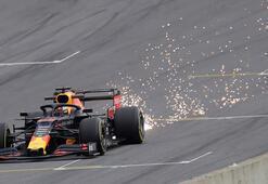 Formula 1in Brezilya ayağında pole pozisyonu Verstappenin