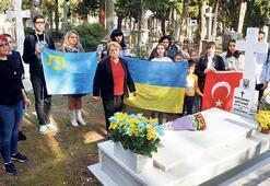 Atatürk'e kitabını okutan Ukraynalı