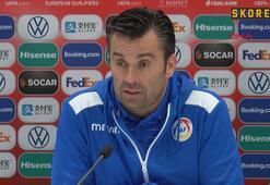 Andorra Teknik Direktörü Koldo Alvarezin açıklamaları