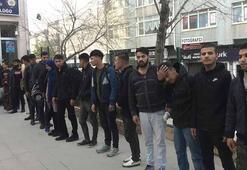 Keşanda 28 kaçak göçmen yakalandı