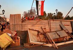 Bağdatta göstericiler üçüncü köprüye de yerleşti