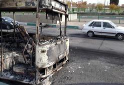 Tahrandaki protestolarda kan aktı