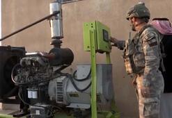 MSB: Rasulayna bağlı Nukra köyünde elektrik jeneratörü kuruldu