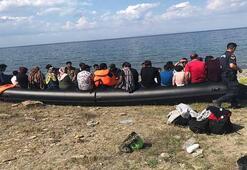 Ayvacıkta 2 günde 385 kaçak göçmen yakalandı