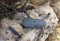Siirtte PKKlı teröristlere ait drone ele geçirildi