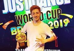 Just Danceda 3. kez Dünya Şampiyonu Umutcan Tütüncü