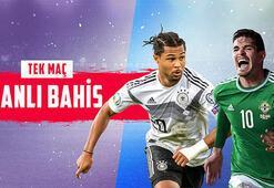 Almanya-Kuzey İrlanda maçı canlı bahis heyecanıyla Misli.comda