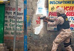 Haitideki dört protestocu vuruldu