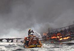 Güney Kore açıklarında balıkçı teknesi yandı: 1 ölü, 11 kayıp