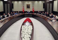 Cumhurbaşkanlığı Kabinesi Beştepede toplandı