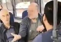 Genç kıza otobüste sözlü taciz Kalk, gözüm sana kayıyor