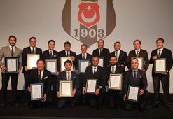 Beşiktaşta yönetim kurulu görev dağılımı yapıldı