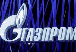 Gazprom açıkladı Doğal gaz ile dolduruldu
