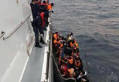 Yunanistana geçmeye çalışırken yakalandılar