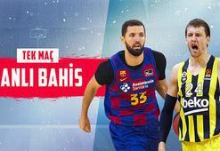 Fenerbahçe Bekonun kritik Barcelona maçı canlı bahisle Misli.comda