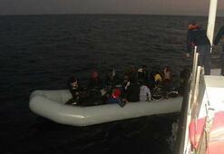 Ölüme yolculukta 38 göçmen yakalandı