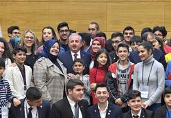 TBMM Başkanı Şentop: Özgürlüklerinden mahrum bırakılmış çocuklara eğitim olanağı sağlanmalı