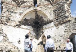 500 yıllık tarihi cami  ayağa kaldırılacak