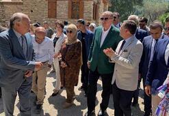 Cumhurbaşkanı Erdoğanın ziyaret ettiği antik kente ilgi arttı