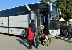 Bakanlık açıkladı 70 aile daha yola çıktı